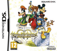 Kingdom Hearts Re Coded 2011 Game Cover