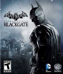 Batman Arkham Origins Blackgate 2013 Game Cover