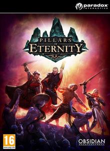 Pillars of Eternity 2015 Game Cover