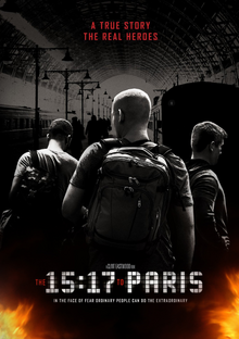 The 15 17 to Paris 2018 DVD Cover