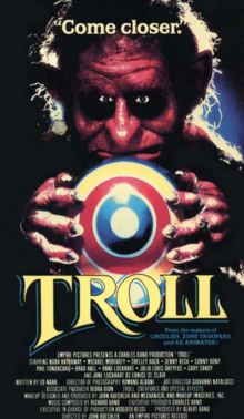 Troll 1986 VHS Cover