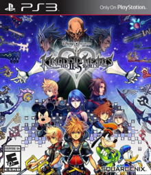 Kingdom Hearts HD II.5 Remix 2014 Game Cover