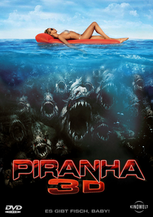 Piranha 3D 2010 DVD Cover