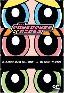 The Powerpuff Girls 1998 DVD Cover