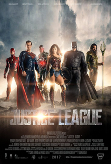 Justice League 2017 Movie Poster