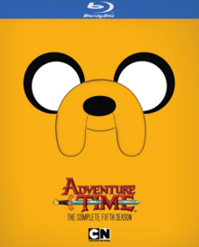 Adventure Time 2010 Blu-Ray Cover