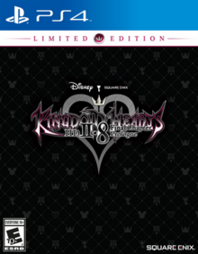 Kingdom Hearts HD II.8 Final Chapter Prologue 2017 Game Cover