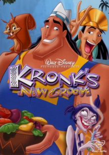 Kronk's New Groove 2005 DVD Cover