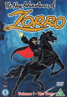 The New Adventures of Zorro 1997 DVD Cover