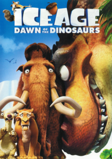 Ice Age Dawn of the Dinosaurs 2009 DVD Cover