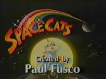 SpaceCats 1991 Title Card