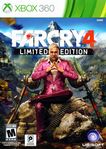 Far Cry 4 2014 Game Cover