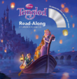 Disney Tangled Read-Along Storybook and CD 2010 Cover