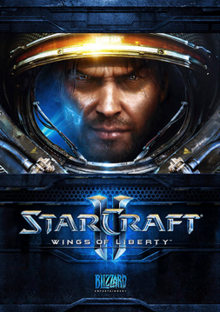 StarCraft II Wings of Liberty 2010 Game Cover