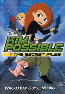 Disney's Kim Possible 2002 DVD Cover