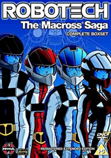 Robotech The Macross Saga 1985 DVD Cover