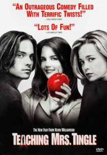 Teaching Mrs. Tingle 1999 DVD Cover