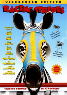 Racing Stripes 2005 DVD Cover