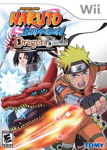 Naruto Shippuden Dragon Blade Chronicles 2010 Game Cover