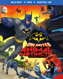 Batman Unlimited Animal Instincts 2015 BLU-RAY, DVD & DIGITAL HD Cover