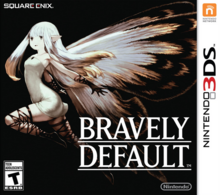 Bravely Default 2013 Game Cover