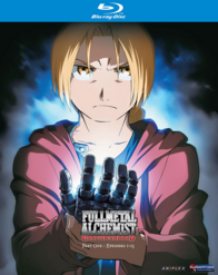 Fullmetal Alchemist Brotherhood Part One 2010 Blu-Ray Cover