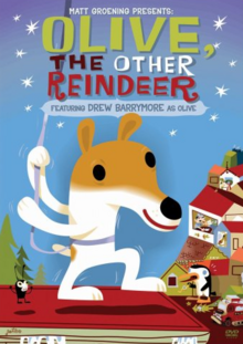 Olive The Other Reindeer 1999 DVD Cover