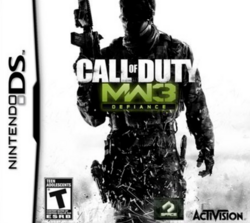 Call of Duty Modern Warfare 3 Defiance 2011 Game Cover
