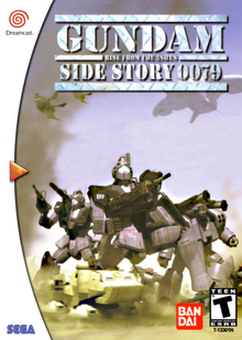 Gundam Side Story 0079 Rise from the Ashes 2000 Game Cover