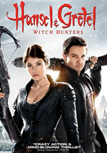 Hansel & Gretel Witch Hunters 2013 DVD Cover