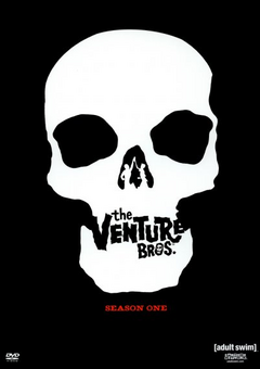 The Venture Bros. 2004 DVD Cover