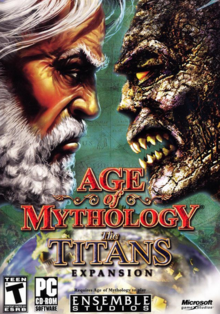 Age of Mythology The Titans 2003 Game Cover