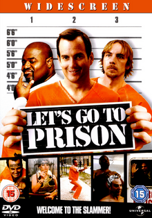 Let's Go to Prison 2006 DVD Cover