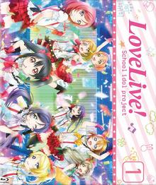 Love Live! School idol project 2016 Blu-Ray Cover