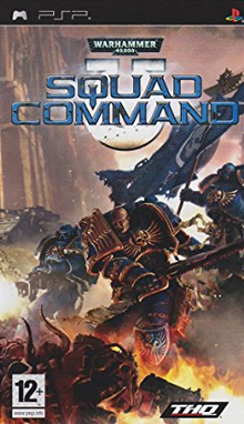 Warhammer 40,000 Squad Command 2007 Game Cover