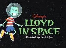 Disney's Lloyd in Space 2001 Title Card