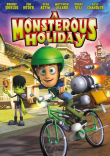 A Monsterous Holiday 2013 DVD Cover