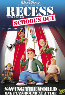 Disney's Recess School's Out 2001 DVD Cover
