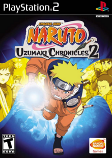 Naruto Uzumaki Chronicles 2 2007 Game Cover