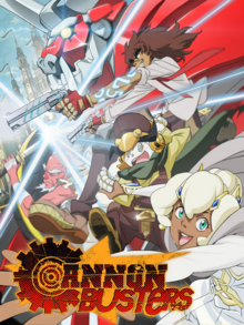 Cannon Busters 2019 Poster