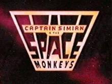 Captain Simian & the Space Monkeys 1996 Title Card