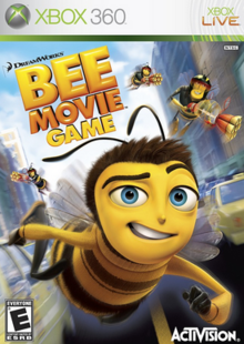 DreamWorks Bee Movie Game 2007 Game Cover