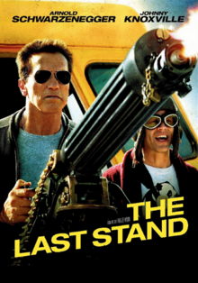 The Last Stand 2013 DVD Cover