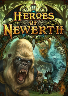Heroes of Newerth 2010 Game Cover