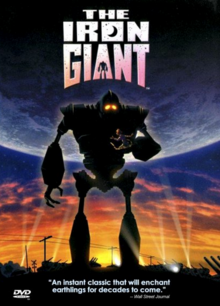 The Iron Giant 1999 DVD Cover