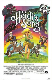 Heidi's Song 1982 Poster