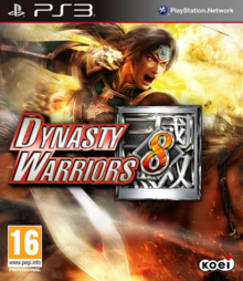Dynasty Warriors 8 2013 Game Cover