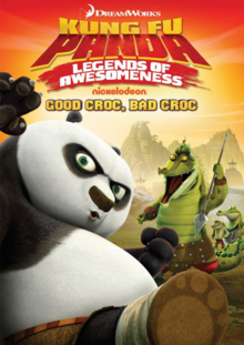 DreamWorks Kung Fu Panda Legends of Awesomeness 2011 DVD Cover