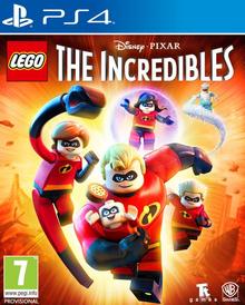 Lego Disney-Pixar The Incredibles 2018 Game Cover