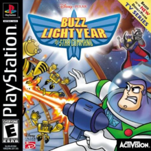 Disney Pixar Buzz Lightyear of Star Command 2000 Game Cover